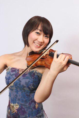 ヴァイオリン奏者門野由奈 Quartet SISLEY 弦楽四重奏