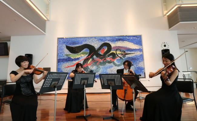 弦楽四重奏 Quartet SISLEY ミューザ川崎ロビーコンサート演奏
