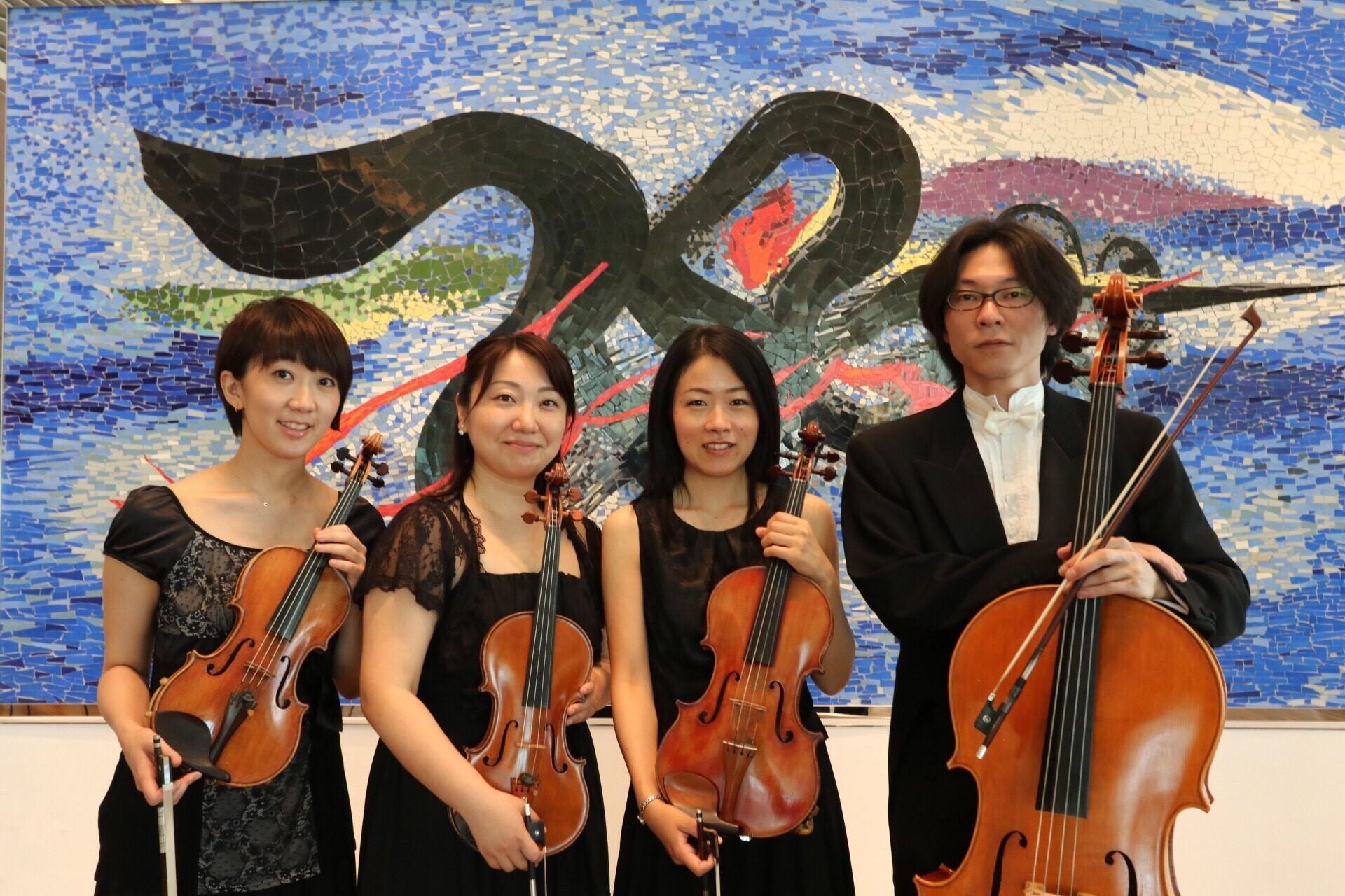 【2017/02/26】Quartet SISLEY Taro バースデーコンサート@岡本太郎美術館